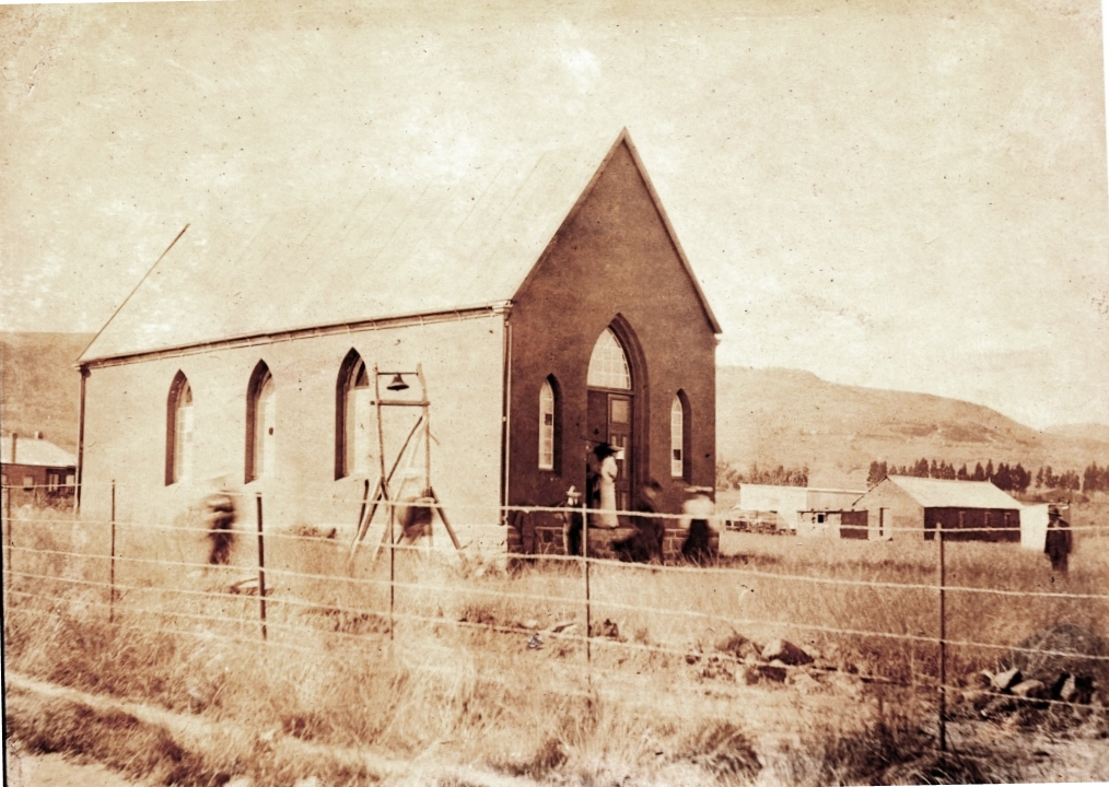 Methodist Church Vryheid ca 1897 Computerized Louis Scheepers Vryheid