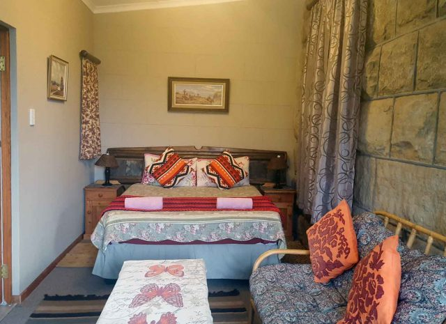 Bedroom 1 and Lounge